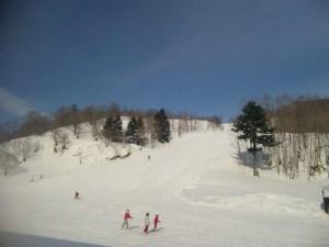 石狩平原スキー場 Bコース