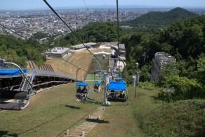 大倉山ジャンプ台 下りのリフト